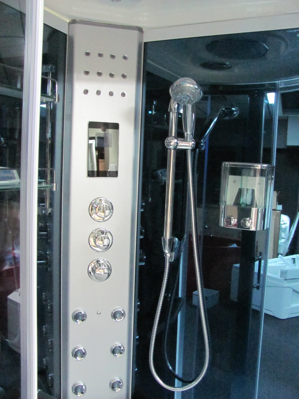 Steam Shower Room With Aromatherapy And Thermostatic Faucet