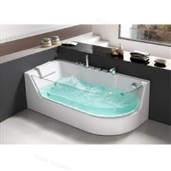 Corner JETTED BATHTUB & Air Bubble & Massage,Heater.  C3133 - Image 1