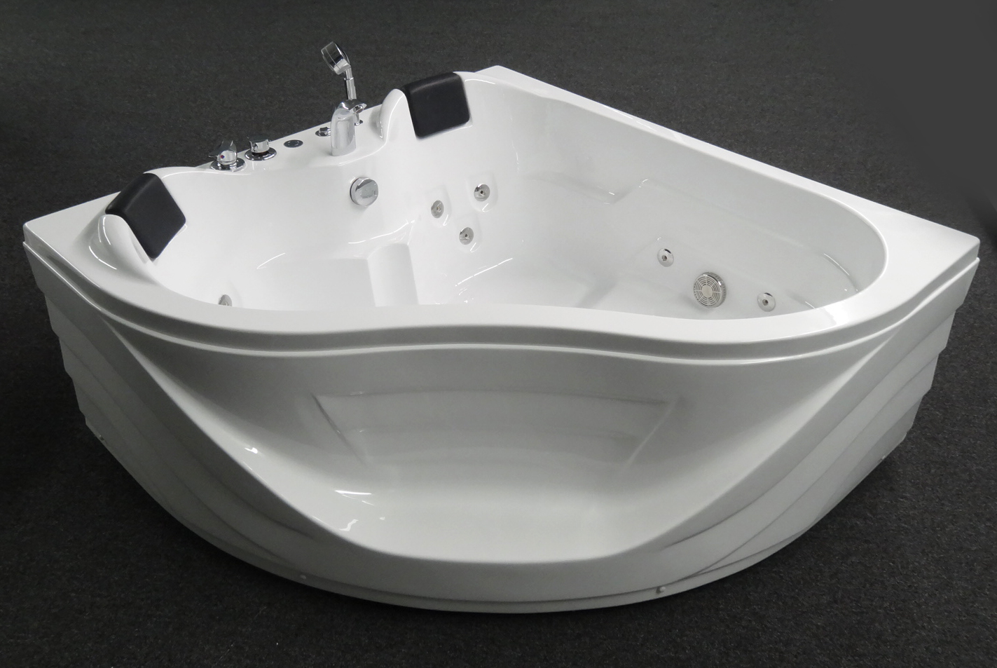 corner jetted bathtub 2 person b248 best shower room