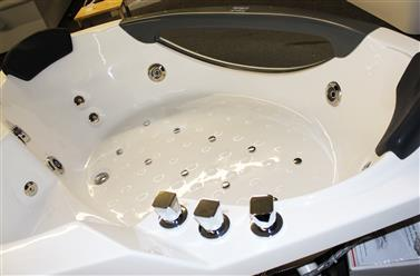 Corner JETTED BATHTUB,Hydromassage,Whirlpool,Air Bubble. M3150D - Image 10