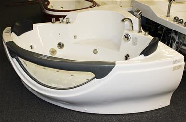 Corner JETTED BATHTUB,Hydromassage,Whirlpool,Air Bubble. M3150D - Image 9