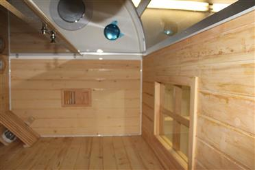 Steam Shower Enclosure with Traditional Sauna 	B001  - Image 18