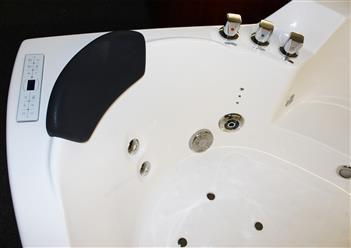 Corner JETTED BATHTUB,Hydromassage,Whirlpool,Air Bubble. M3150D - Image 4