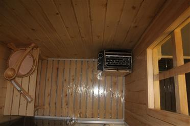 Steam Shower Enclosure with Traditional Sauna 	B001  - Image 14