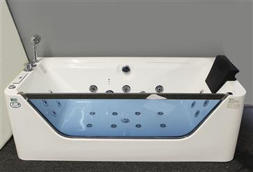 JETTED BATHTUB ,Whirlpool & Air Massage, waterfall ,Heater. M1777 - Image 4