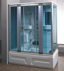 Steam Shower Room with Whirlpool Tub.BLUETOOTH. 8007 - Image 1